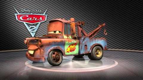 "Cars 2 Turntable ""Mater"""