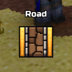 The icon of roads.