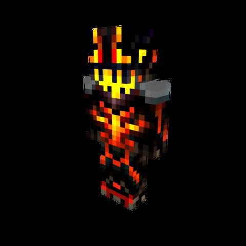 A full appearance of the Demon Runner.