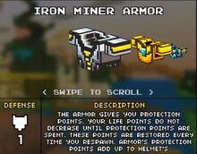 Iron Miner Armor