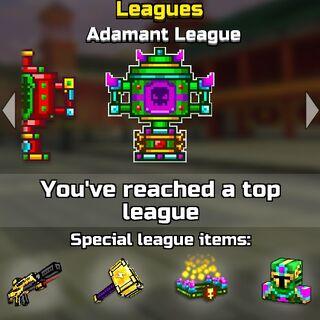 The adamant league.