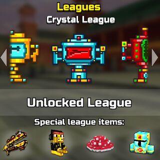 The crystal league.