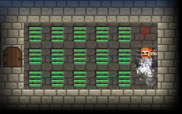 Prison stage T-Gas RoT