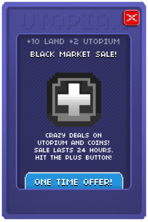 Black Market Sale