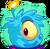 Blue Alien Puffle