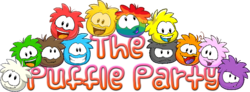 The Puffle Party Logo