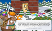 Charlie Talk Puffle backyard