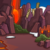Lava Rock Background
