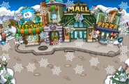 Snowing Plaza Winter Party