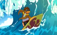 TRA SURFIIING YEEAH
