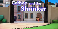 Catboy and the Shrinker