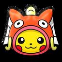 Pikachu (Magikarp Costume)