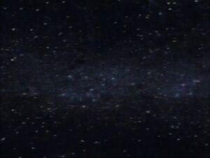 Przestrzeń kosmiczna w Półnconej Galaktyce Siódmego Wszechświata (Plan Unicestwienia Saiyan, cz. 2).jpg