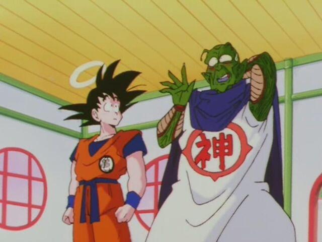 Plik:Goku i Kami Przed Enmą Daio.JPG