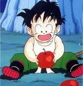 Gohan - początek treningu z Piccolo