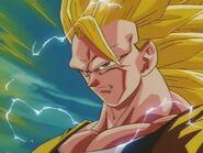 Goku SSJ Three (3) spojrzenie