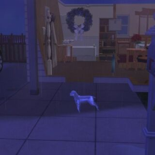 Duch psa w The Sims 2