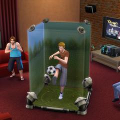 Symulator piłki nożnej w The Sims 4
