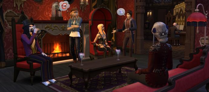 The Sims 4: Wampiry