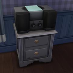 Radio w The Sims 4