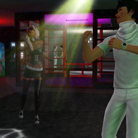 Lola i Kai w klubie <i>Jasnota</i>
