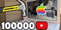 Bored Smashing - MacBook! 100K SPECIAL
