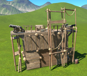 Pirate Shop - Small back side