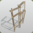Wooden Scaffolding Tall icon