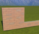 Classic Brick Wall 4m Station Surround 2