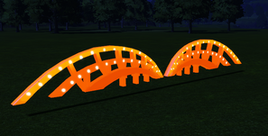 Cutout 10 - Catwalk lit