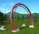 Coaster Rail Archway