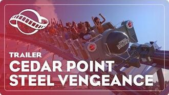 Planet Coaster's Cedar Point® Steel Vengeance Hyper Hybrid Coaster!