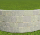 Castle Curved Wall 2m