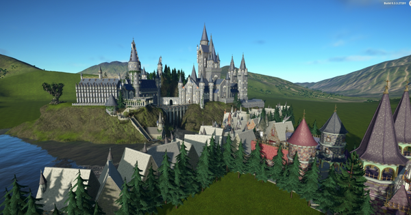 Hogwarts Park by MotGames
