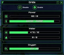 Power grids report