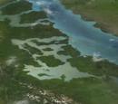 Dinosaur Provincial Park river
