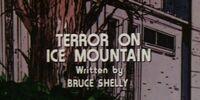 Terror on Ice Mountain
