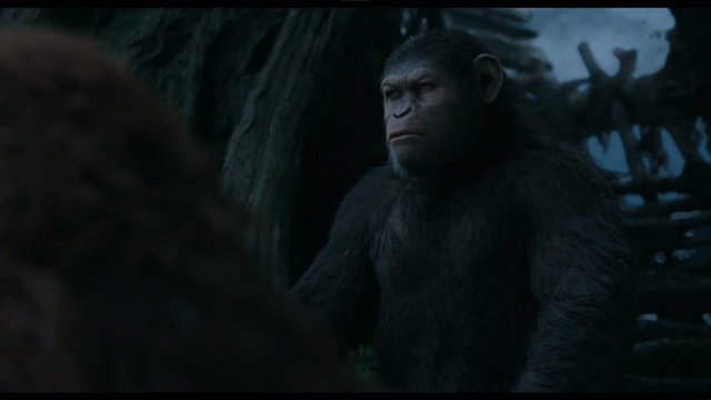 File:Caesar ponders on Maurice's claim on humanity's extinction or survival.png