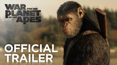 War for the Planet of the Apes Official Trailer 20th Century FOX