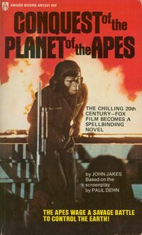 Conquest of the Planet of the Apes Novelization
