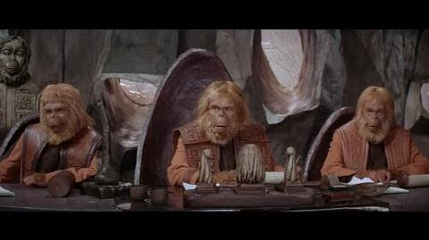 Planet of the Apes (1968) Trial scene part 1 4