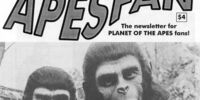Planet of the Apes Fanzines