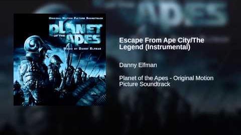 Escape From Ape City The Legend (Instrumental)