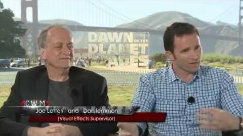 Joe Letteri and Dan Lemmon Interview - Dawn of the Planet of the Apes (2014) College Web Media