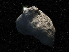 Small kupier belt asteroid artist's concept