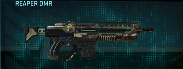 Woodland assault rifle reaper dmr