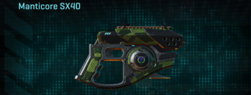 Amerish forest pistol manticore sx40