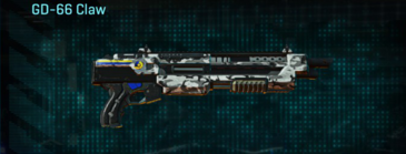 Forest greyscale shotgun gd-66 claw