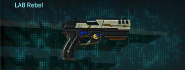 California scrub pistol la8 rebel