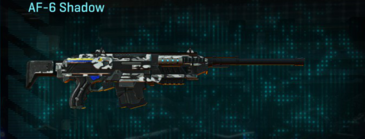 Forest greyscale scout rifle af-6 shadow